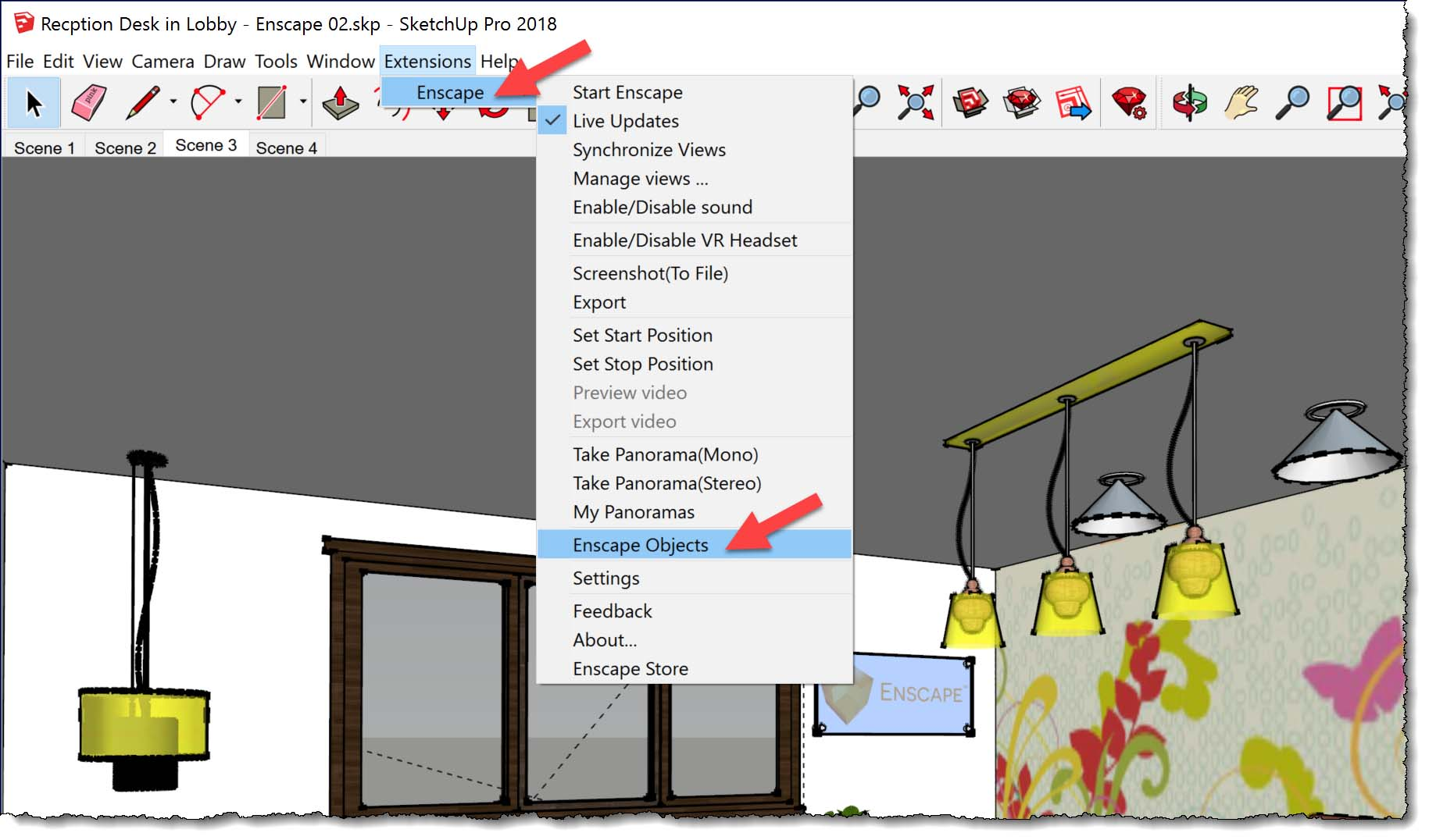 Best Practices for Lights and Materials in SketchUp – Enscape