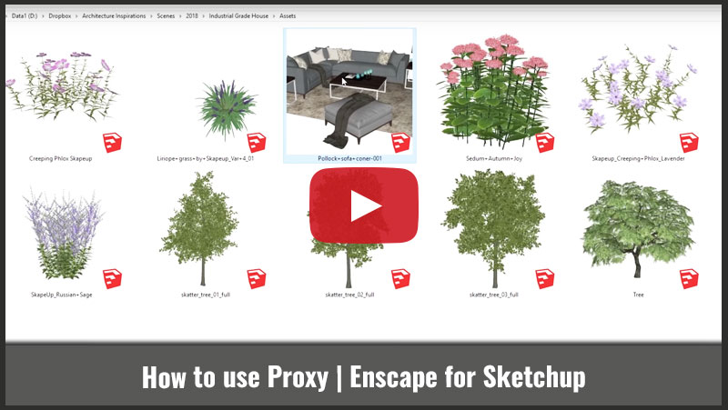How to Use Proxy - Architecture Inspirations