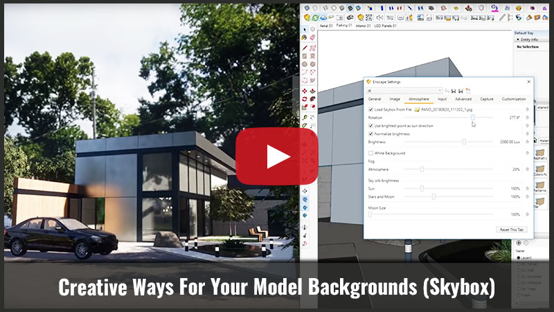 Creative Ways for your Model Backgrounds Skybox - Joseph Kim