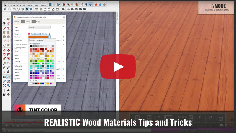 Realistic Wood Materials Tips and Tricks - Architecture Inspirations