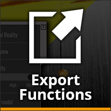 Export Functions Icon