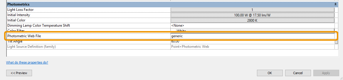 Photometrics Web File option is now available