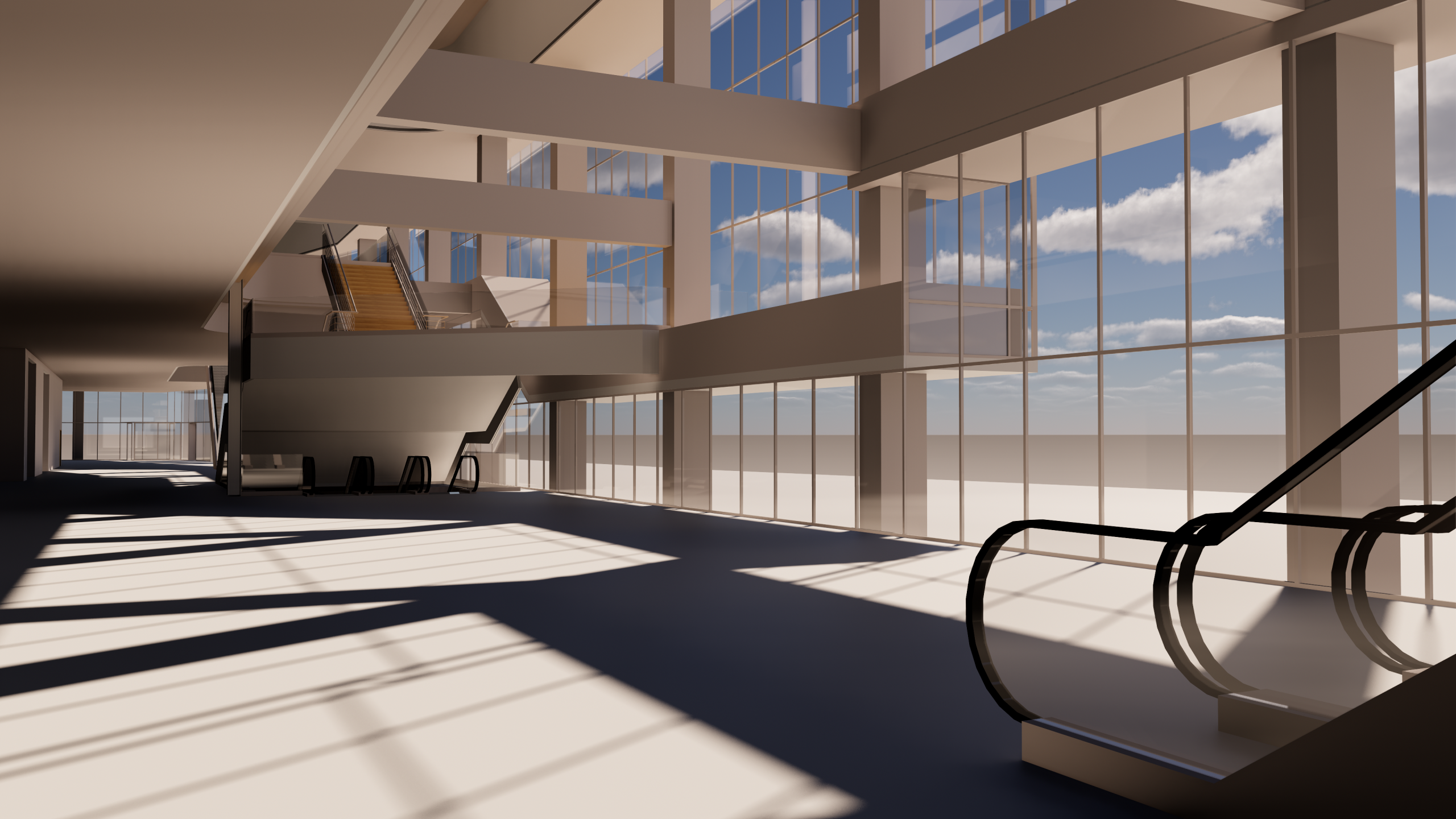 Render in real-time with the Enscape and BricsCAD integration. Image credit: HOK