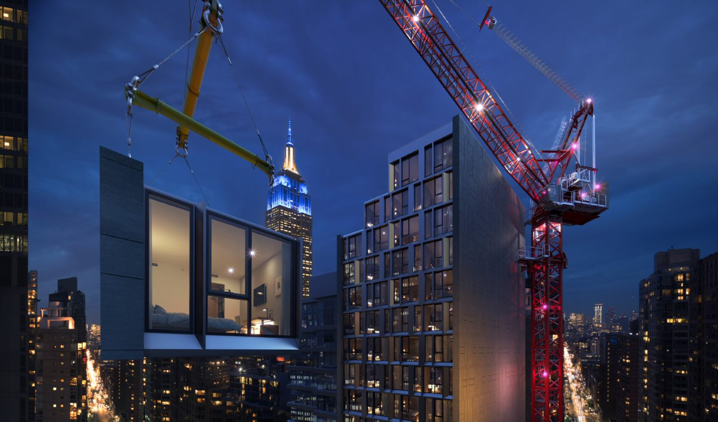 Marriot's modular hotel, The AC Hotel New York NoMad