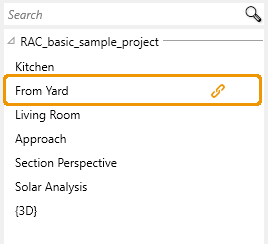 View is linked to Settings Presets