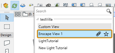Select a View in Manage Views dialog