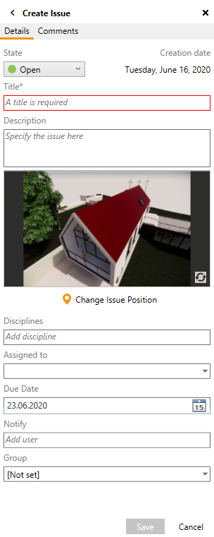 BIM Track Available Fields in Enscape