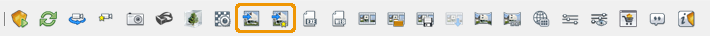 Enscape's Render buttons in ArchiCAD