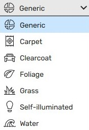 Material Types