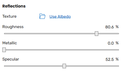 Reflection slot and associated options